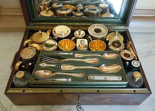 NÉCESSAIRE DE DAME ÉPOQUE CONSULAT, vers 1802-1803